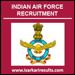 Indian Air Force Jobs | Indian Air Force Recruitment