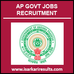 AP Health Department Jobs