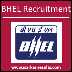 BHEL Thirumayam  Recruitment