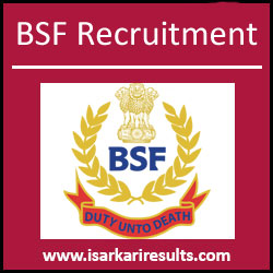 BSF GDMO Recruitment