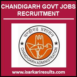 Chandigarh Govt Jobs | Chandigarh Govt Jobs 2018