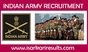 Indian Army Tradesman Recruitment
