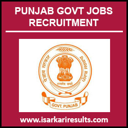 NRHM Punjab Recruitment