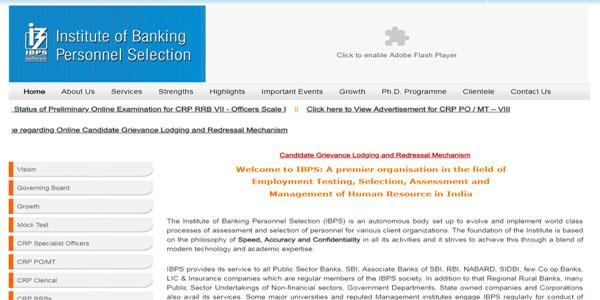 IBPS Clerk 2018 Apply Online Step 1