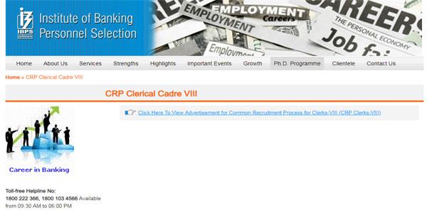 IBPS Clerk 2018 Apply Online Step 4