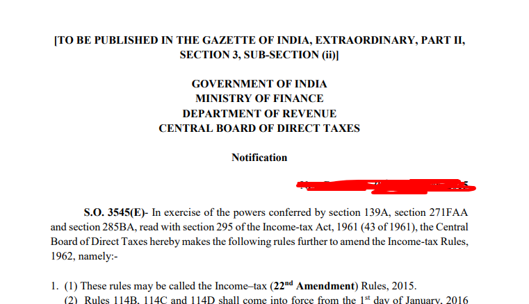 Income Tax Recruitment 2018 Online Apply Step 3