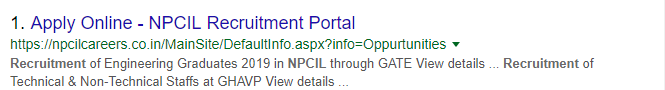 NPCIL Recruitment 2018 Apply Online Step 6