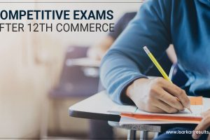 Competitive Exams after 12th Commerce