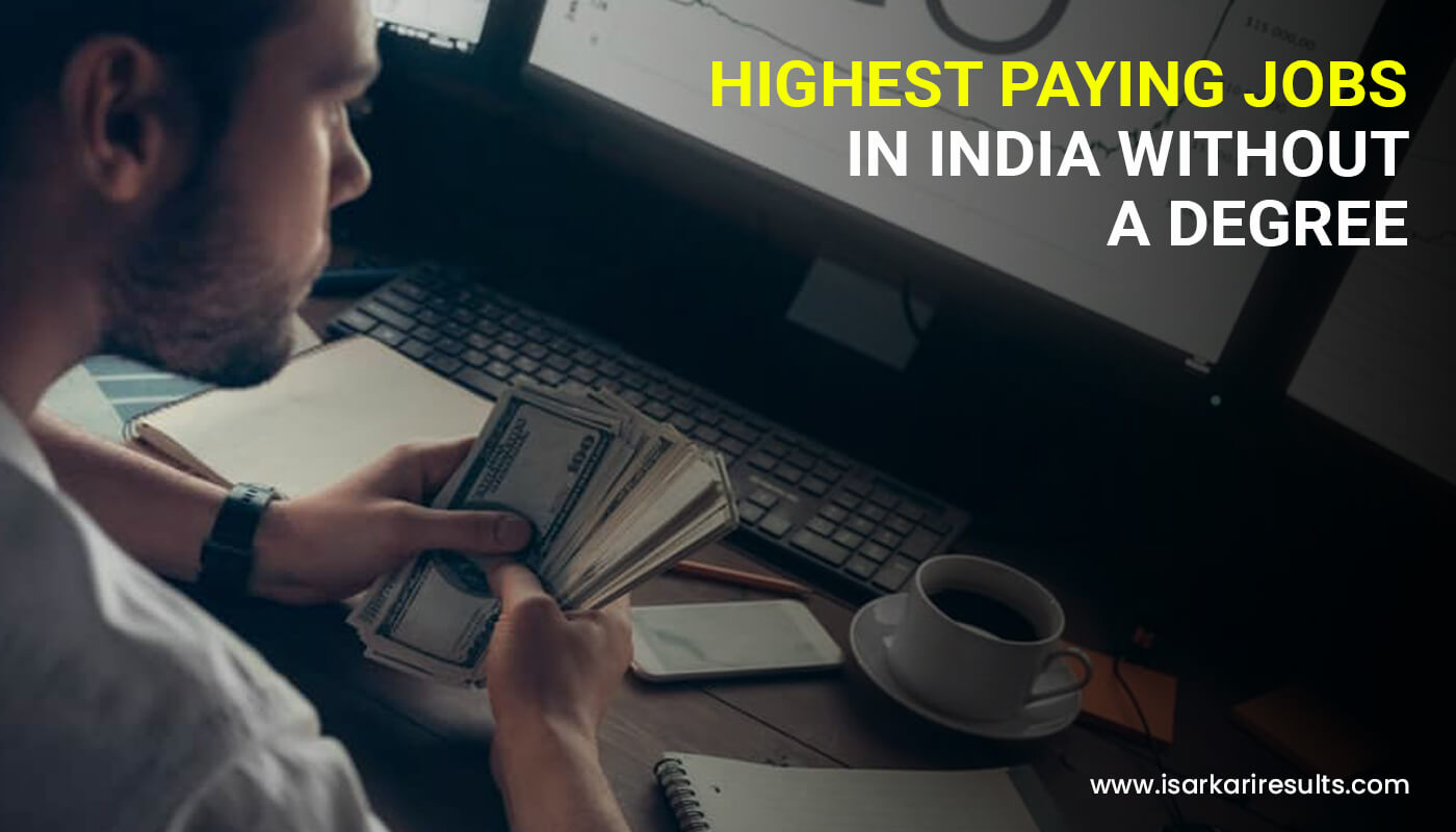 Highest Paying Jobs in India without a Degree