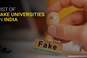 Fake Universities in India