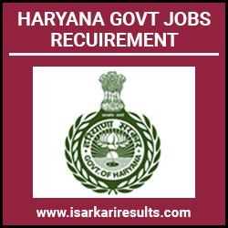 Kurukshetra University Recruitment 2019-20