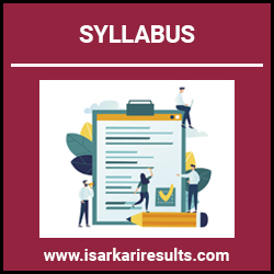 SSB Head Constable Syllabus